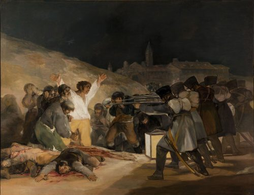 Goya and the depiction of drama