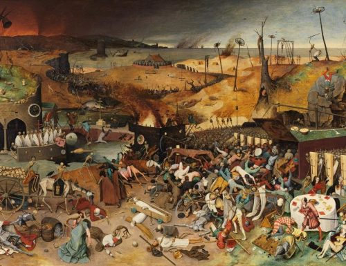 When Things Fall Apart: The Representation of Plague in Literature and Visual Art
